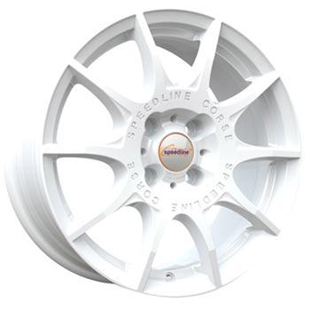 RONAL Speedline SL2 bílá 7x16, 5x120 ET45, Bílá