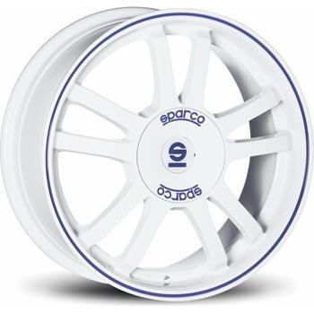 SPARCO RALLY WB 6.5x15, 4x108 ET25, bílý lesklý