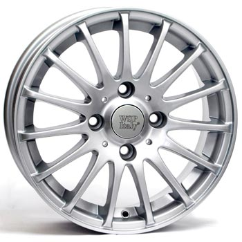 WSP ITALY CHEVROLET CERERE 6x15, 4x114.3 ET44, SILVER