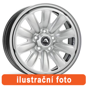 ALCAR Hybridní kolo Ford (kód:130600) 6,5Jx16, 5x108 ET50