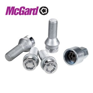 bezpečnostní šrouby MC Gard (4 v sadě)