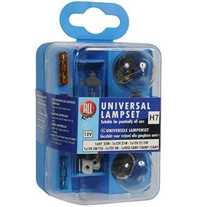 Žárovky Box žárovek Allride H7 12V