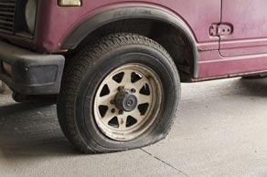 Letní pneu: systém nouzového dojetí