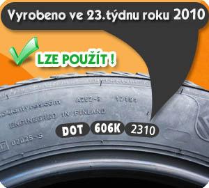 Oficiální prohlášení předních výrobců pneumatik. TŘÍLETÁ PNEUMATIKA NENÍ STARÁ!