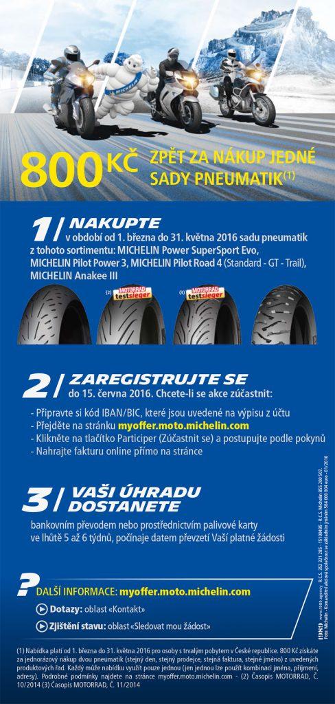 Motocyklová promo akce od Michelinu !!