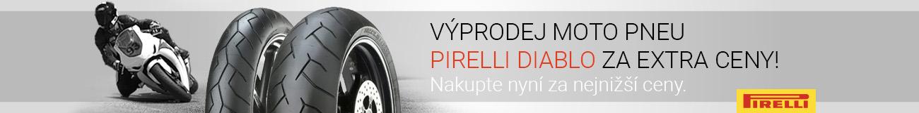Moto pneu Pirelli