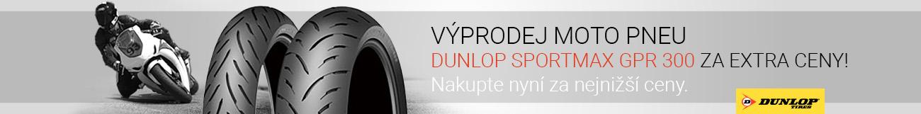 Moto pneu Dunlop