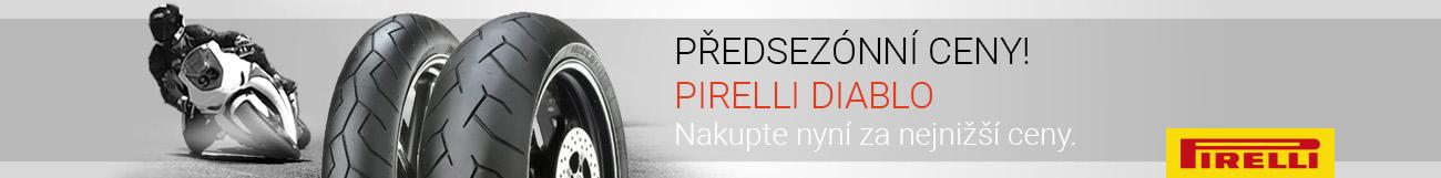 Motocyklové pneumatiky Pirelli Diablo