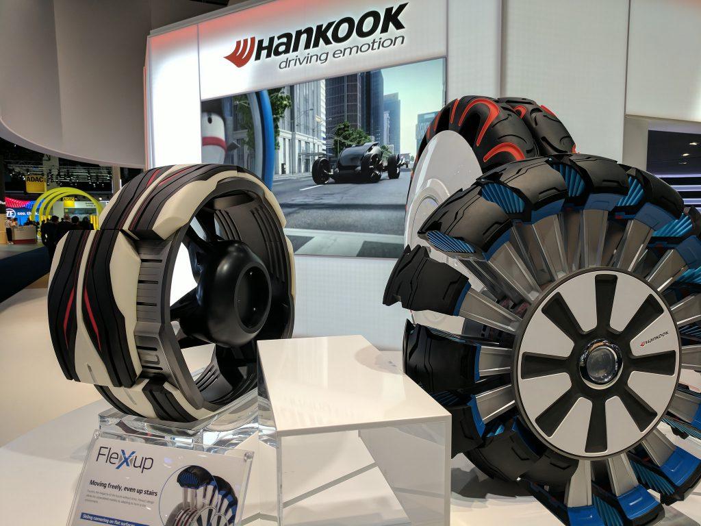 Prototypy pneumatík Hankook
