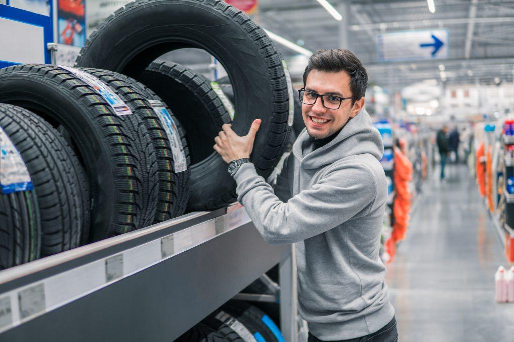 Typy vzorků pneu