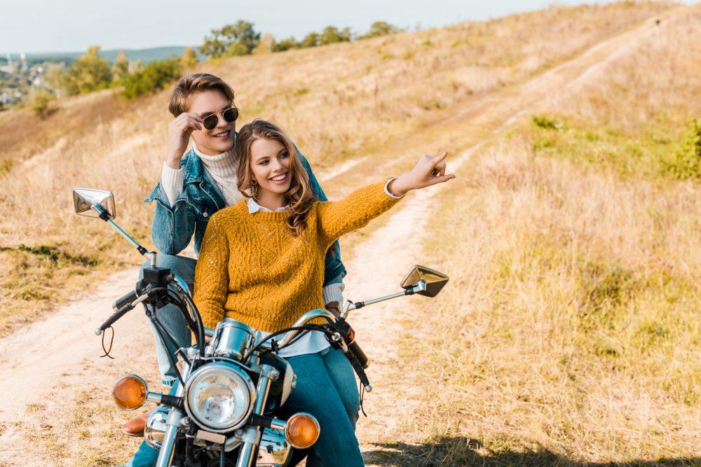 Jak se připravit na dovolenou na motorce