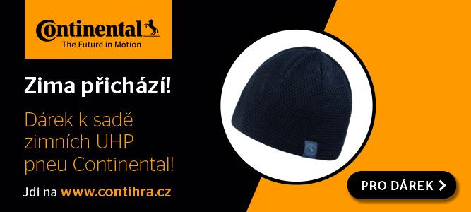 Contihra – dárek zimní čepice Continental