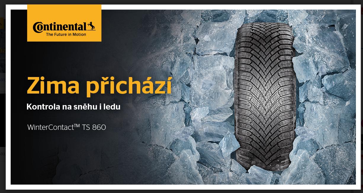 Zimní pneumatiky Continental