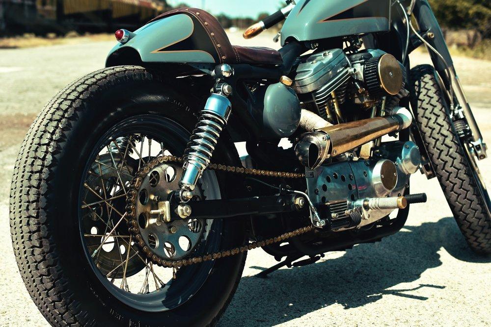 Servis motocyklových tlumičů