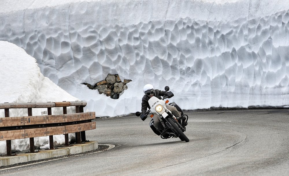 Jak si užít zimní jízdu na motorce