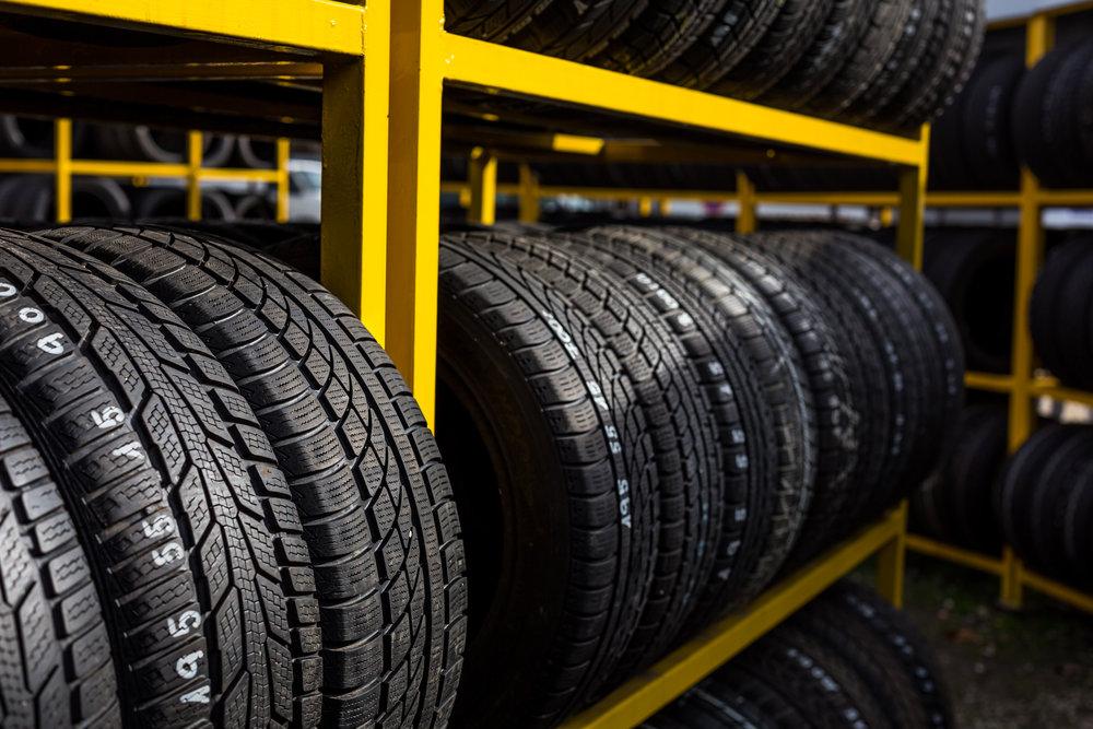 5 pravidel pro skladování pneumatik