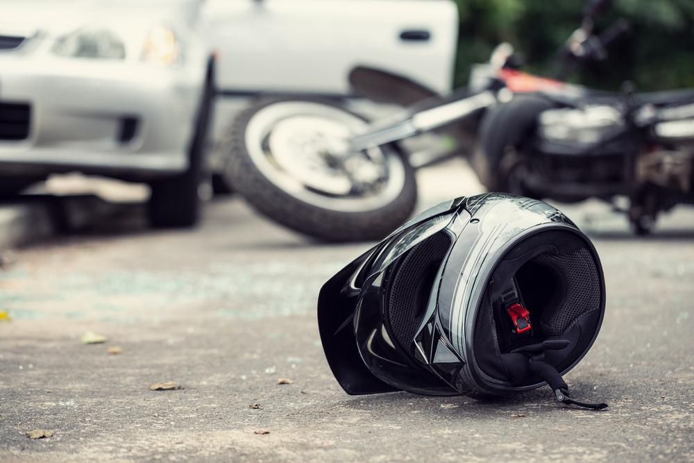 Srážka motocyklu s autem