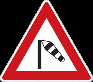 Dopravní značka Boční vítr