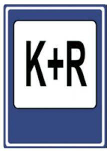 Dopravní značka Parkoviště K+R