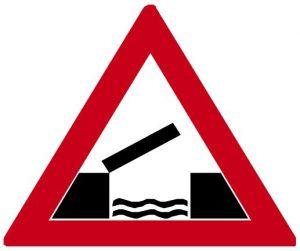 Dopravní značka Pohyblivý most