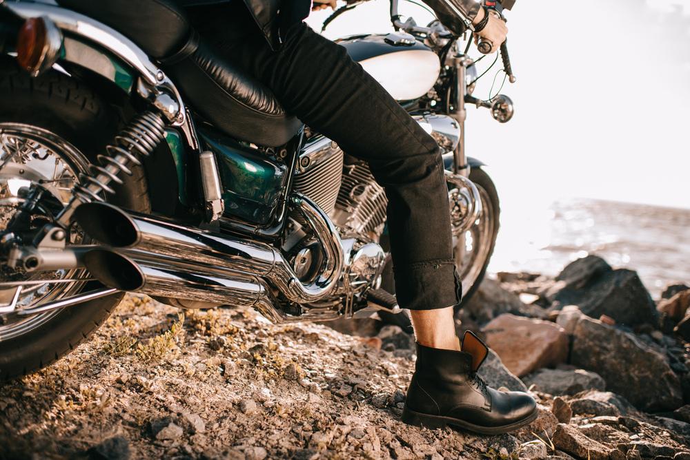 Výfuk motorky