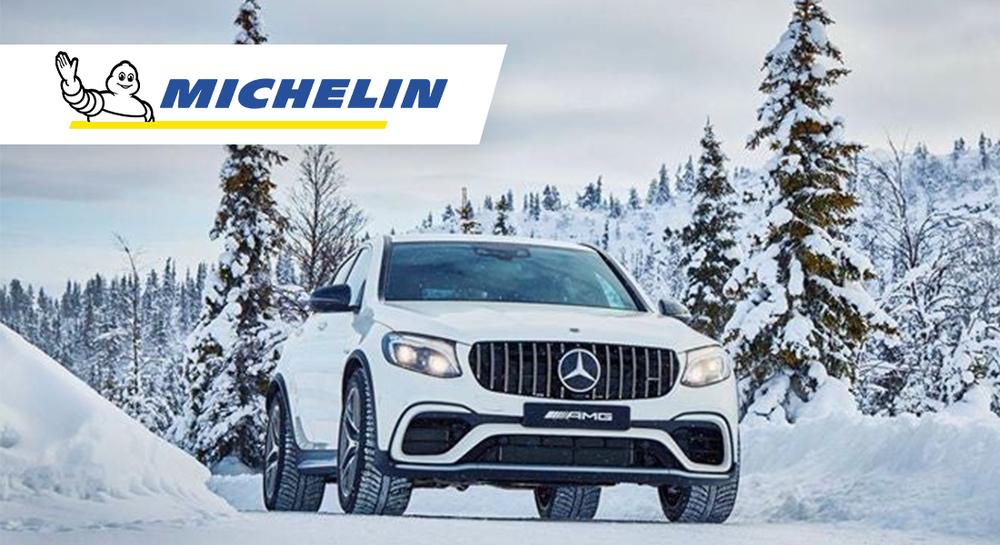 Auto s pneu Michelin