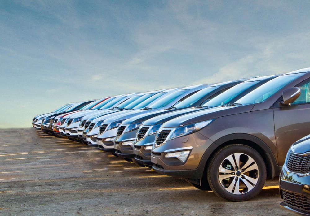 Řada nových vozů na prodej