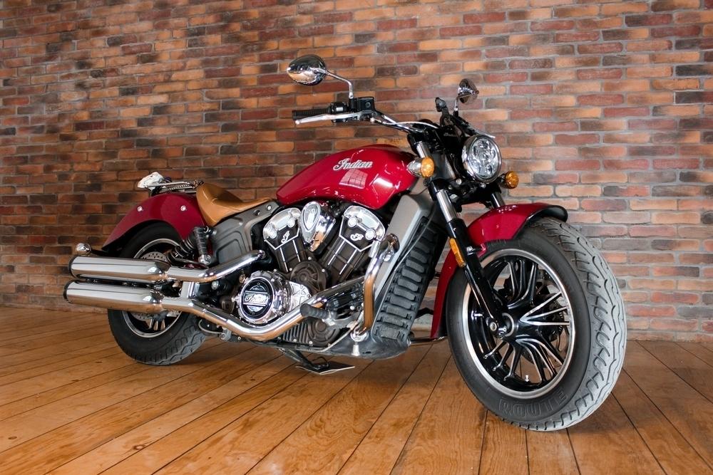 Motocykl značky Indian