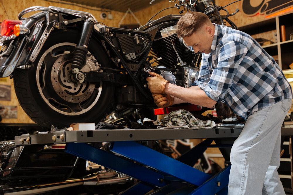 Oprava motorky