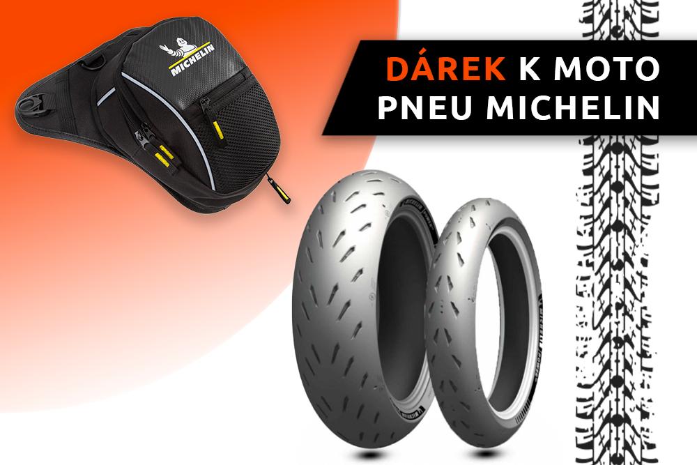 Motorkářský vak zdarma k pneu Michelin