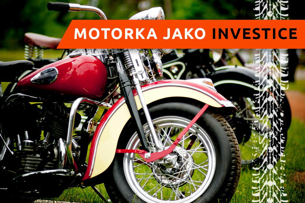 Luxusní motocykl na výstavě