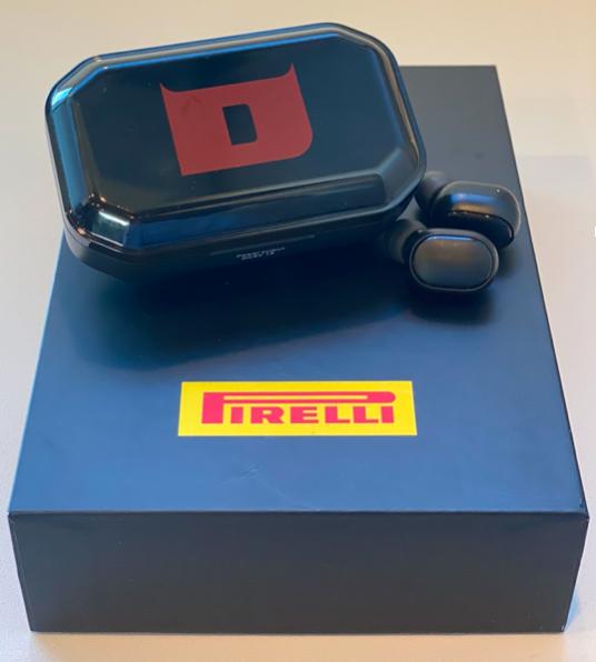 Bezdrátová sluchátka Pirelli Diablo