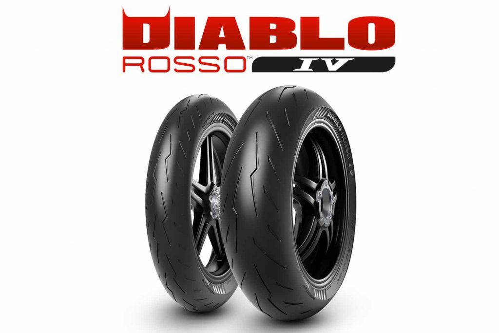 Moto pneu Pirelli Diablo Rosso IV