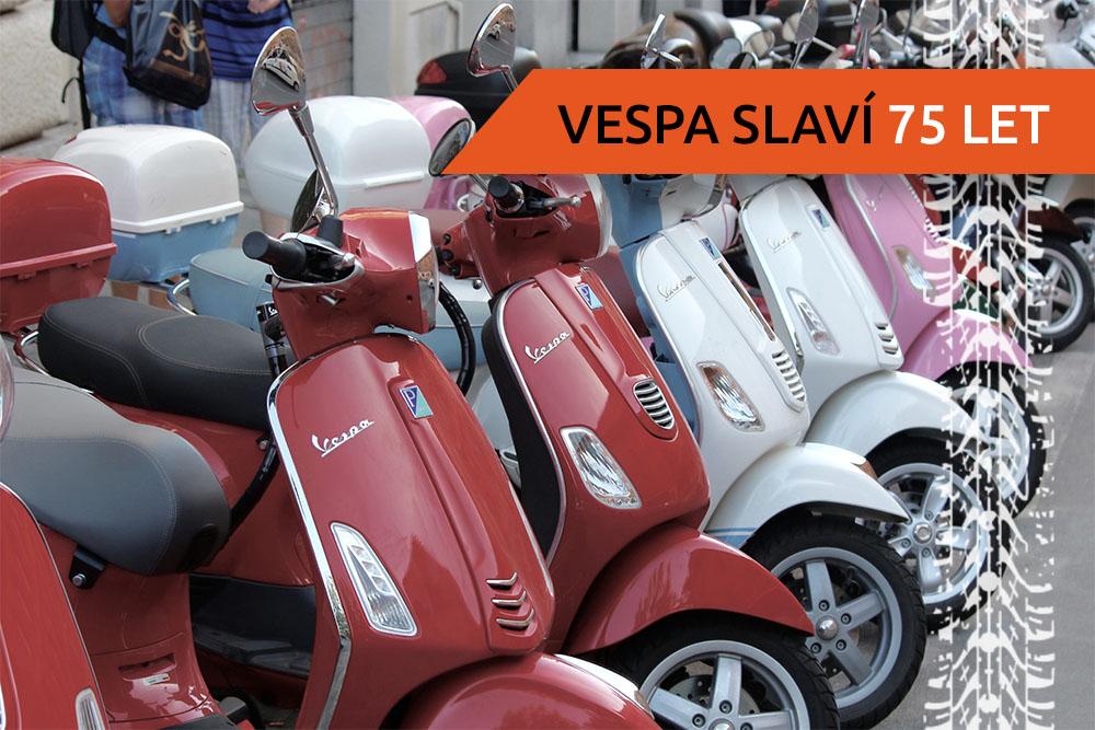 Řada skútrů Vespa
