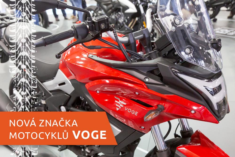 Motocykl nové značky Voge