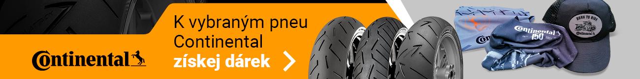 Dárky za moto pneu Continental