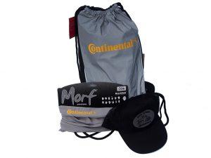 Reflexní stahovací batoh, kšiltovka a nákrčník Continental