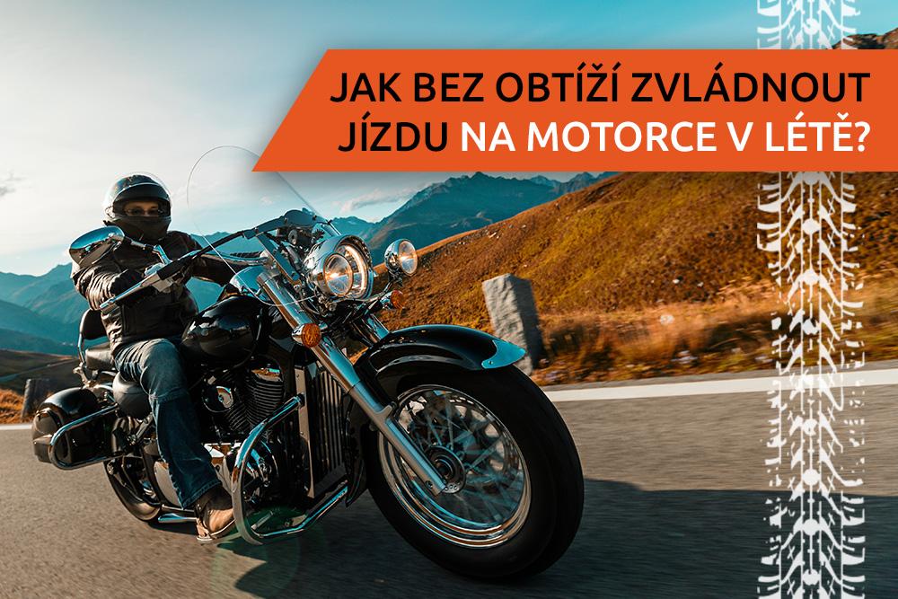 Motorka v létě
