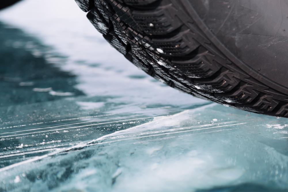 bezpečná jízda na ledu
